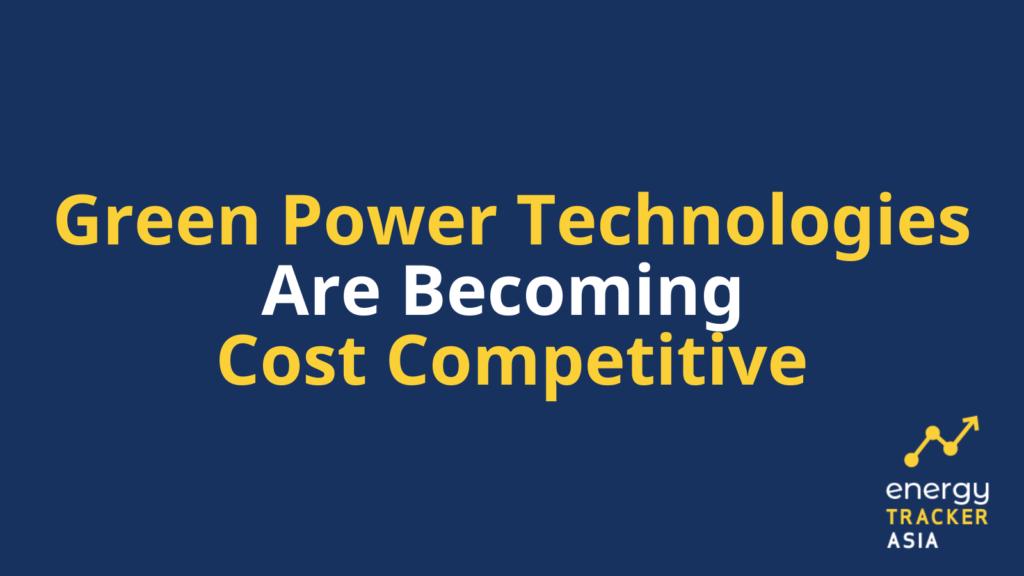 Green power technologies graphic