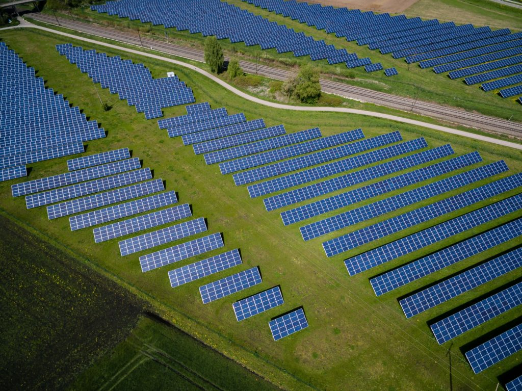 Solar panel grids