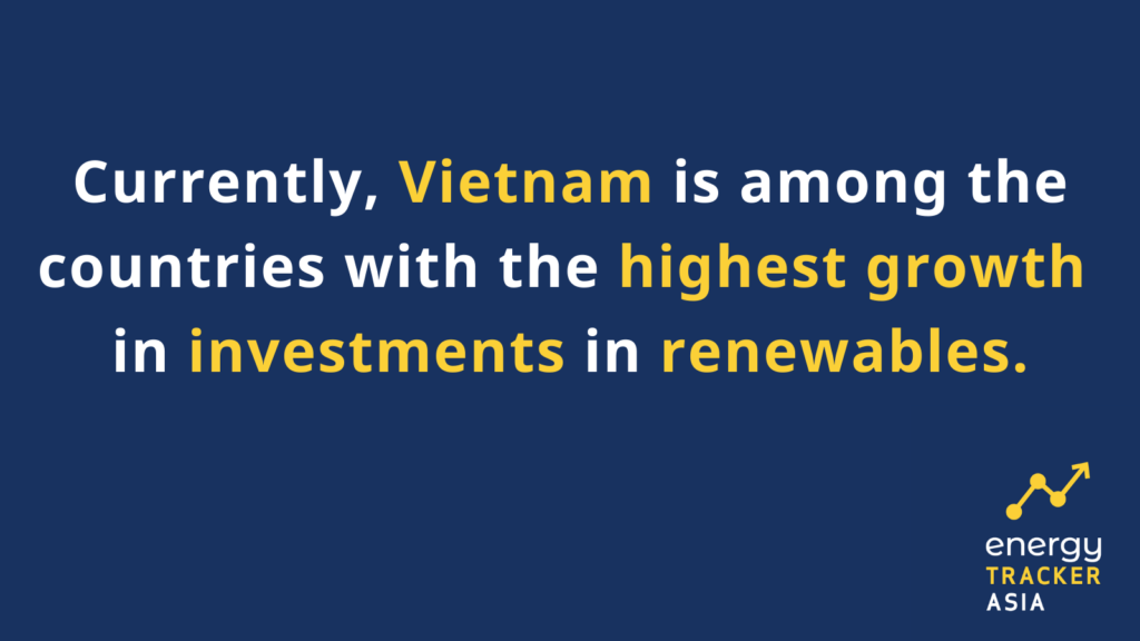 Vietname is among the countries with highest growth in investments in renewables