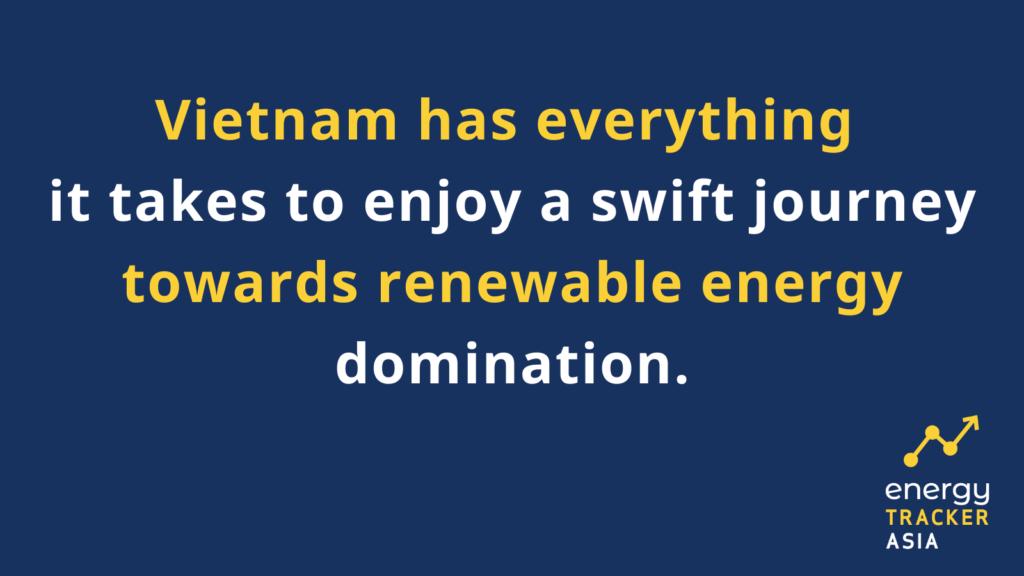 Vietnam potential for renewable energy domination