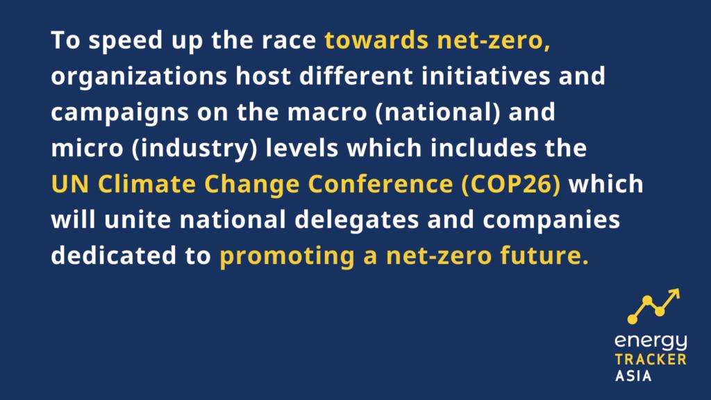 Speeding up the race towards net-zero emissions