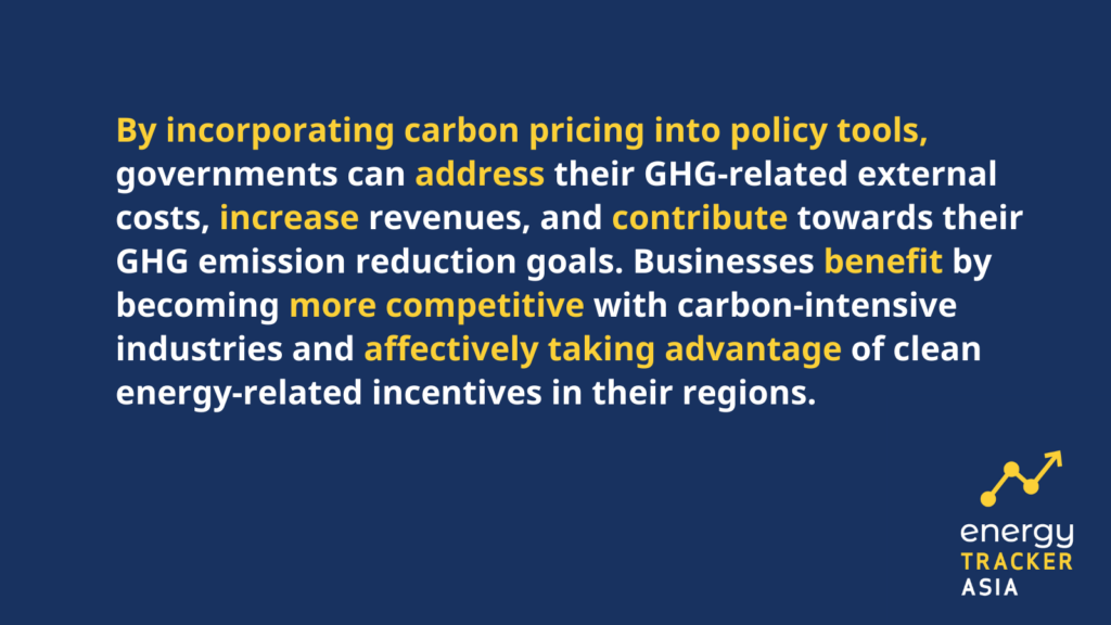 quote on carbon pricing instrument importance