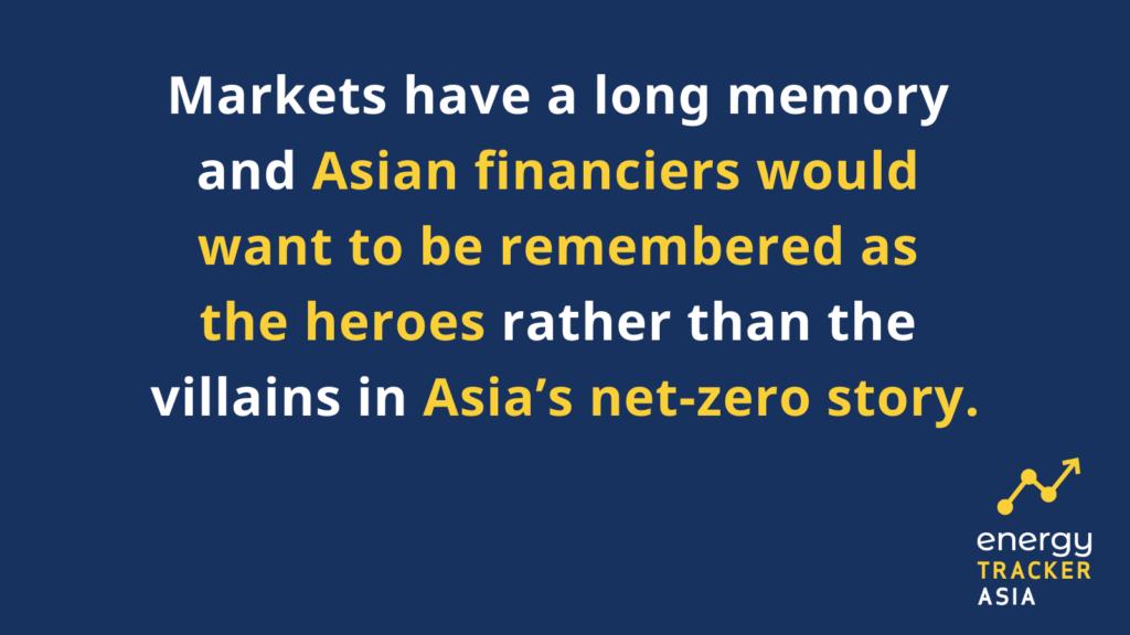 Asian financiers should be the heroes in Asia's net-zero story